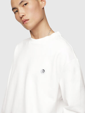 S-LINK, Blanc - Pull Cotton