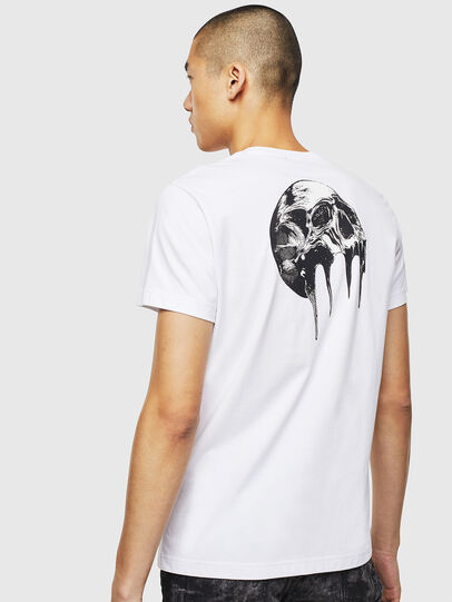 Diesel - T-DIEGO-J10, Blanc - T-Shirts - Image 4