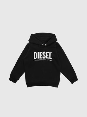 SDIVISION-LOGO OVER, Noir - Pull Cotton