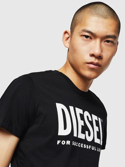 Diesel - T-DIEGO-LOGO, Noir - T-Shirts - Image 3