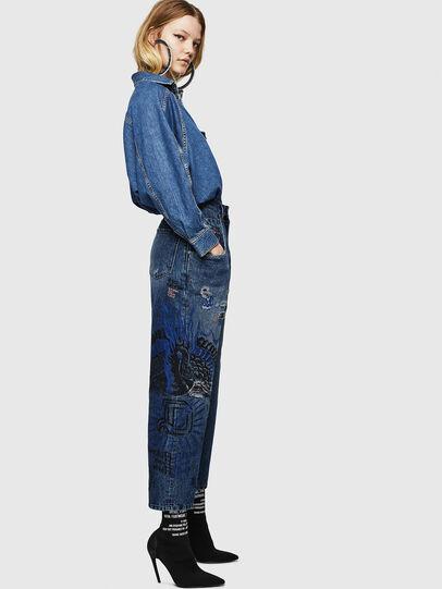 Diesel - Widee 0092Z, Bleu moyen - Jeans - Image 7