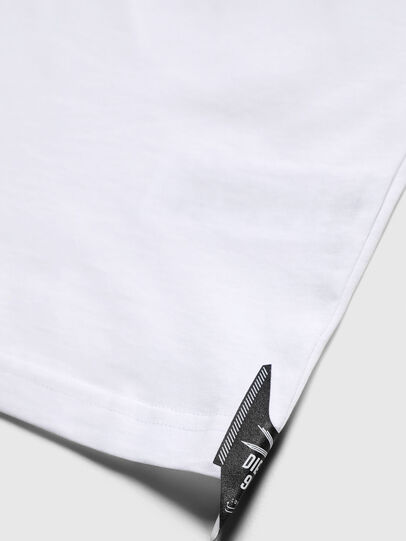 Diesel - TJUSTY7, Blanc - T-shirts et Hauts - Image 4