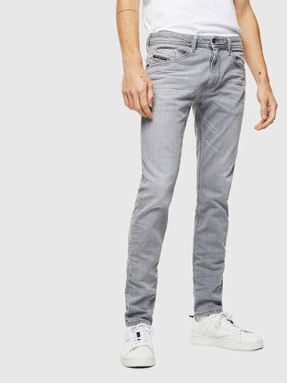 Diesel - Thommer 0890E, Gris Clair - Jeans - Image 1