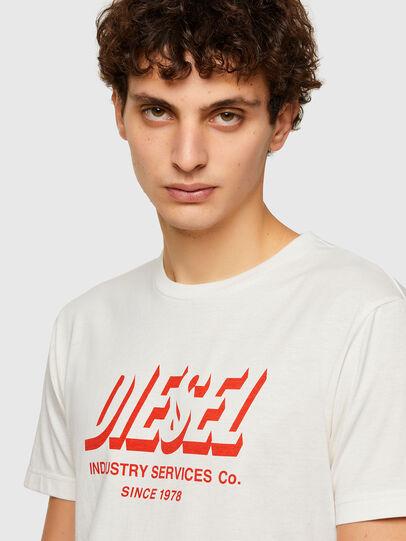 Diesel - T-DIEGOS-A5, Blanc - T-Shirts - Image 3