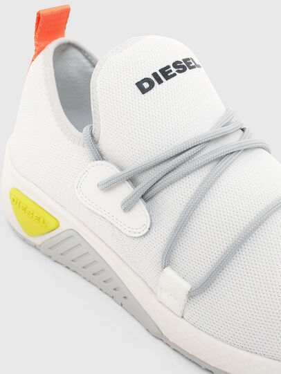 Diesel - S-KB SLE W, Blanc - Baskets - Image 4