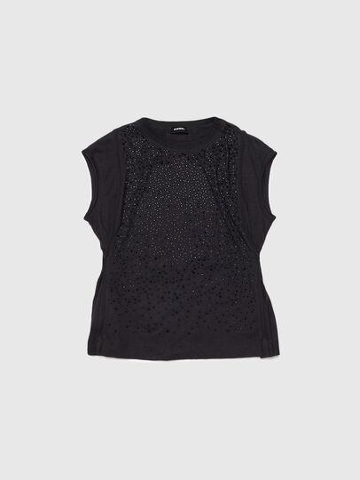 Diesel - TKALYJ, Noir - T-shirts et Hauts - Image 1