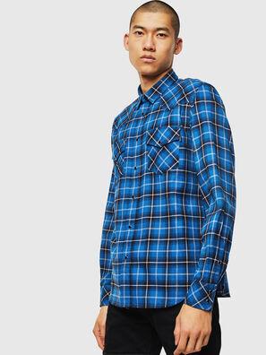 S-EAST-LONG-N, Bleu - Chemises