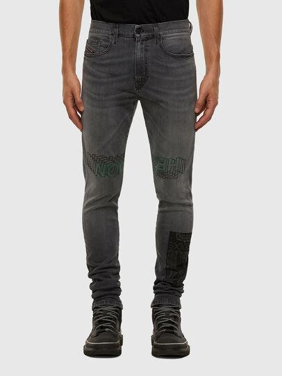 Diesel - D-Amny 009GL, Noir/Gris foncé - Jeans - Image 1