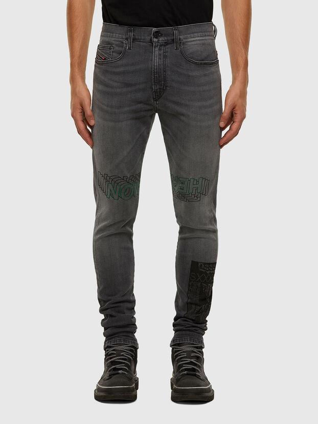 D-Amny 009GL, Noir/Gris foncé - Jeans