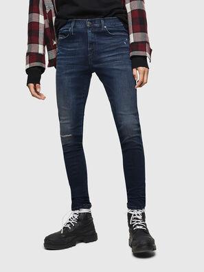 D-Istort 0870C, Bleu Foncé - Jeans