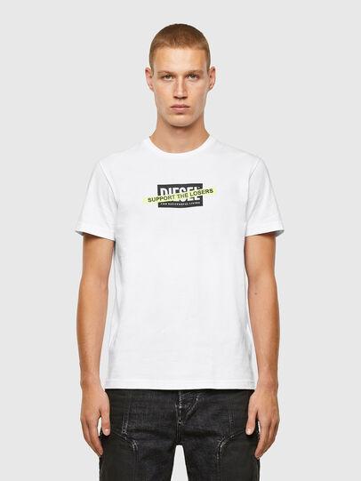 Diesel - T-DIEGOS-A3, Blanc - T-Shirts - Image 1