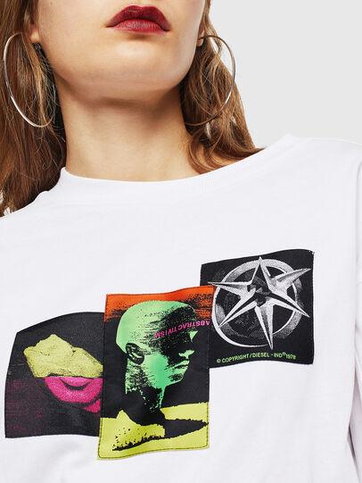 Diesel - T-GLYNIS-J1, Blanc - T-Shirts - Image 4