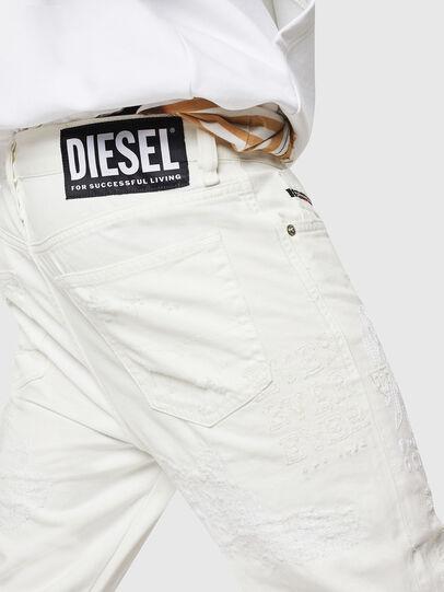 Diesel - Mharky 069IJ, Blanc - Jeans - Image 6