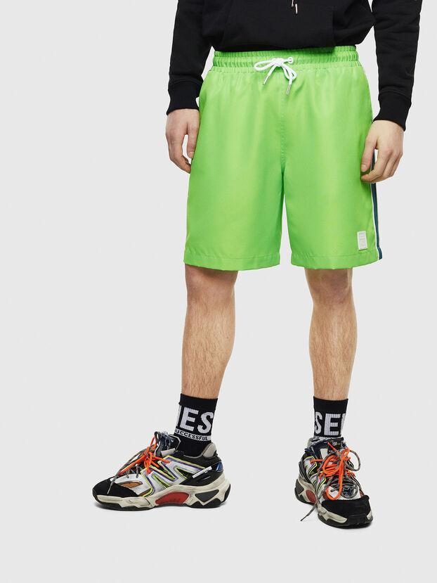 P-KEITH, Vert Fluo - Shorts