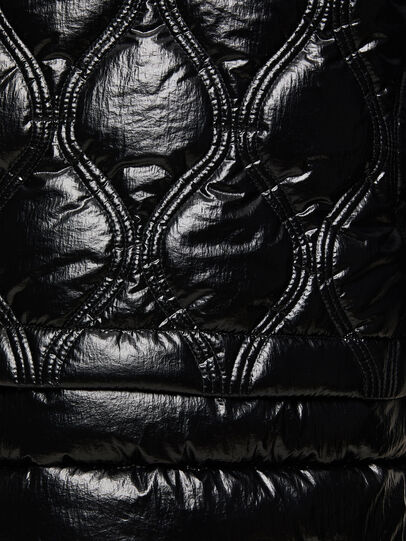 Diesel - W-CRAWFORD-SHINY, Noir - Vestes d'hiver - Image 5