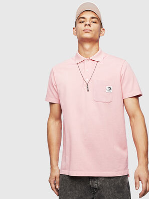 T-POLO-WORKY, Rose - Polos