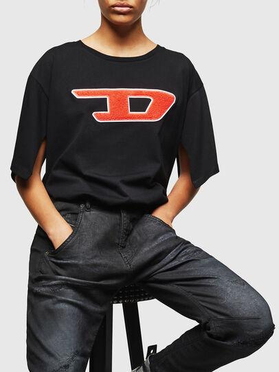 Diesel - Fayza JoggJeans 069GP, Noir/Gris foncé - Jeans - Image 4