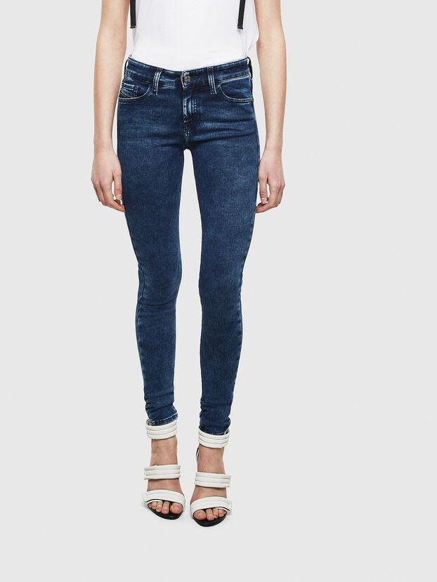 Slandy 0094Z, Bleu Foncé - Jeans