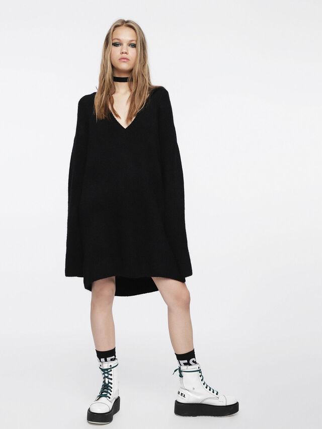 Diesel - M-SOFTY, Noir - Robes - Image 6