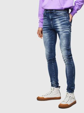 D-Reeft JoggJeans 0096M, Bleu Foncé - Jeans