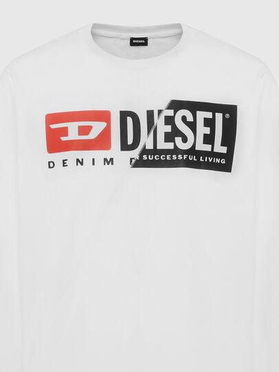 Diesel - T-DIEGO-LS-CUTY, Blanc - T-Shirts - Image 3