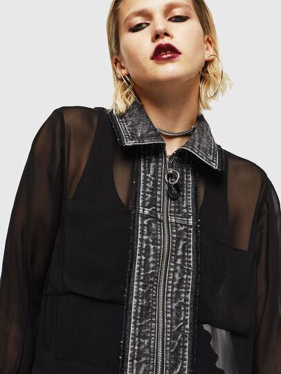 Diesel - D-RAHAN-A, Noir - Robes - Image 3