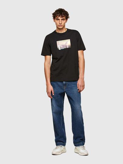 Diesel - T-JUST-A34, Noir - T-Shirts - Image 4