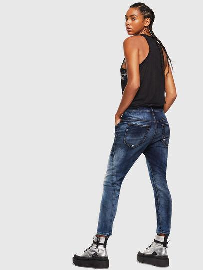Diesel - Fayza JoggJeans 069KD, Bleu Foncé - Jeans - Image 5