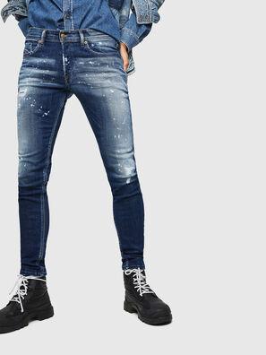 Sleenker 0091Y, Bleu moyen - Jeans