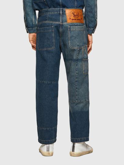 Diesel - D-FRAN-SP, Bleu moyen - Pantalons - Image 2