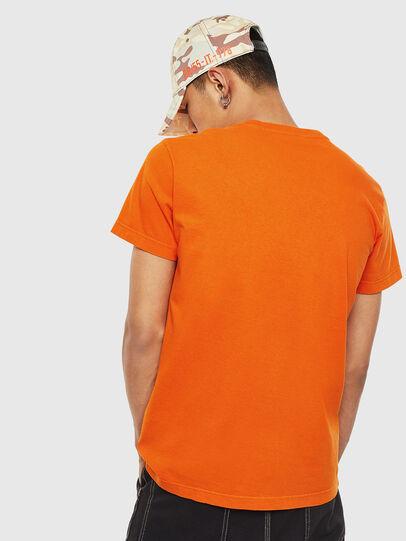 Diesel - T-WORKY-MOHI-S1, Orange - T-Shirts - Image 2