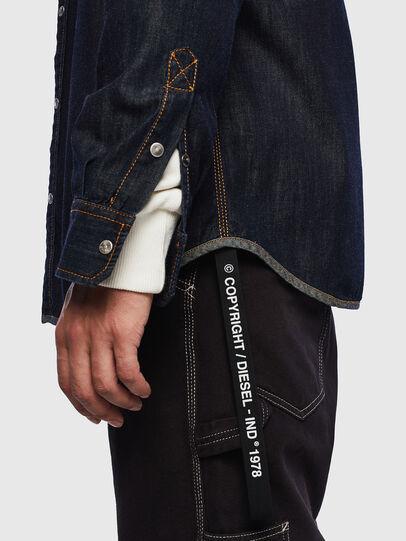 Diesel - D-MILLY, Bleu Foncé - Chemises en Denim - Image 3