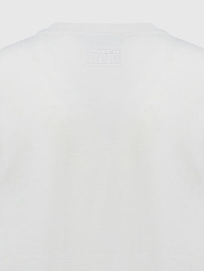 Diesel - T-SILY-E55, Blanc - T-Shirts - Image 4