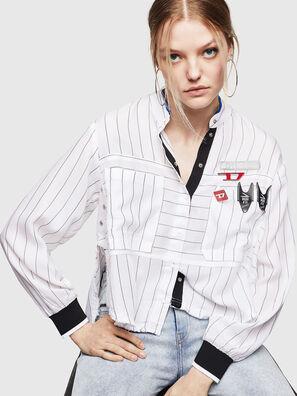 C-SUPER-D, Blanc - Chemises