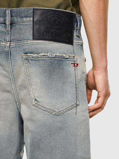 Diesel - D-MACS-SHORT, Bleu Clair - Shorts - Image 4
