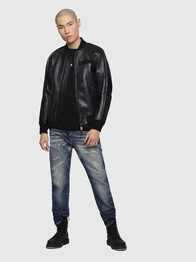 Diesel - Buster 088AQ, Bleu Foncé - Jeans - Image 4
