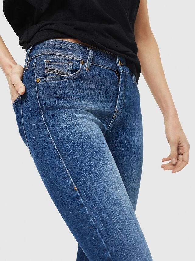 Diesel - Slandy Zip 088AU, Bleu moyen - Jeans - Image 4