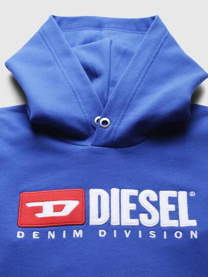 Diesel - SDIVISION OVER, Bleu Céleste - Pull Cotton - Image 3