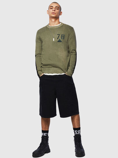 Diesel - K-PACHY, Vert Militaire - Pull Maille - Image 5