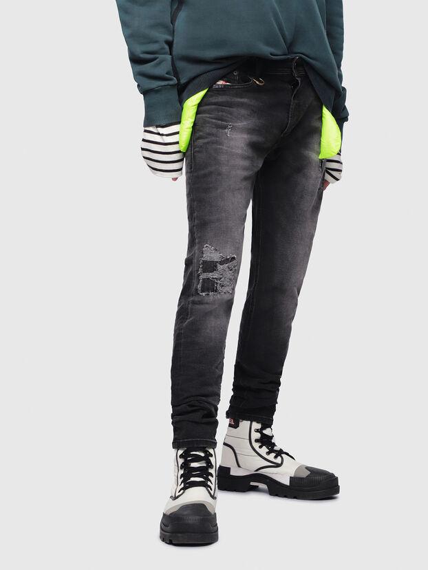 Tepphar 069DW, Noir/Gris foncé - Jeans