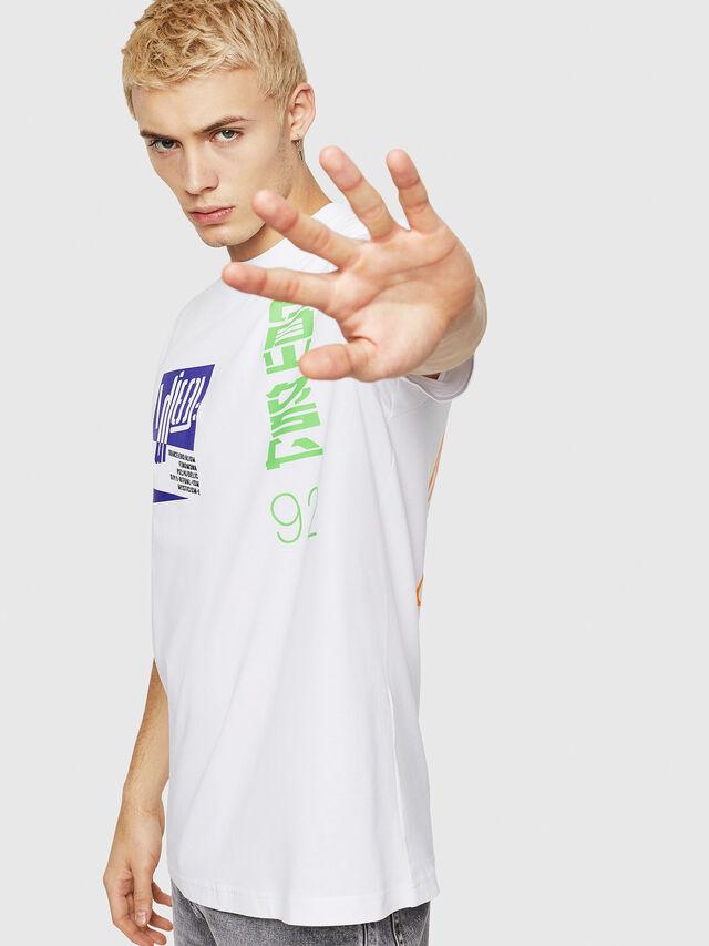 Diesel - T-JUST-Y20, Blanc - T-Shirts - Image 4