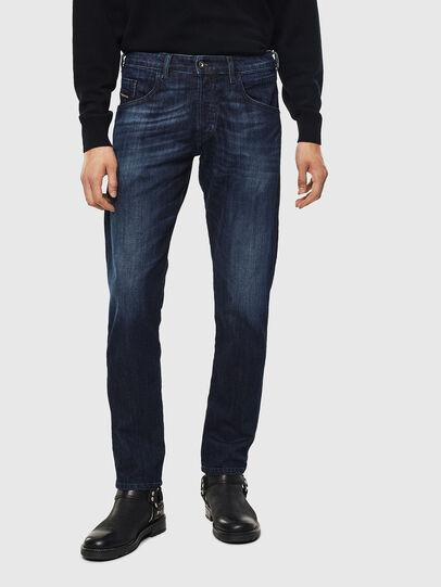 Diesel - D-Bazer 0095W, Bleu Foncé - Jeans - Image 1