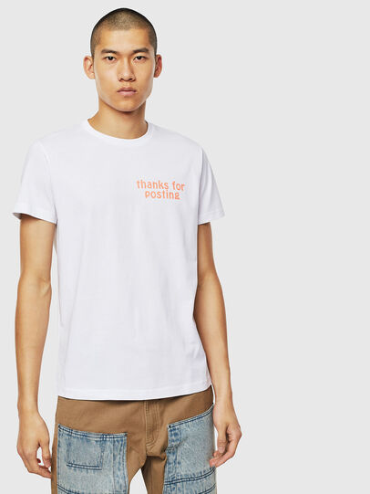 Diesel - T-DIEGO-J20, Blanc - T-Shirts - Image 1