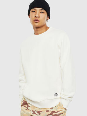 S-GIRK-WORK, Blanc - Pull Cotton