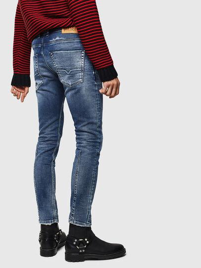 Diesel - Krooley JoggJeans 0096M, Bleu Foncé - Jeans - Image 2