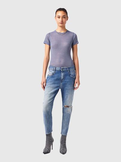 Diesel - Fayza 09B16, Bleu Clair - Jeans - Image 5
