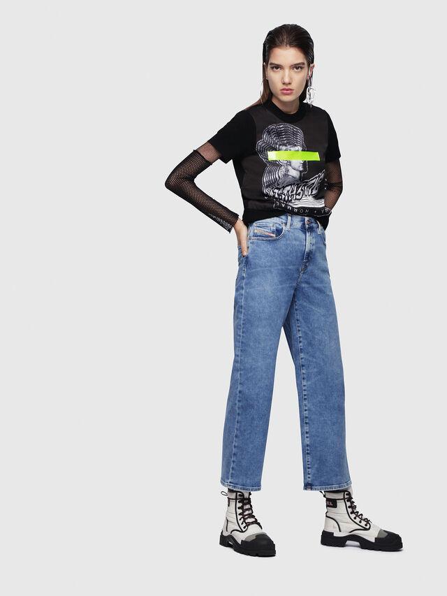 Diesel - Widee 087AR, Bleu Clair - Jeans - Image 4