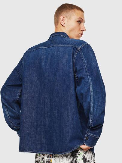 Diesel - D-FLOX, Bleu moyen - Chemises en Denim - Image 2
