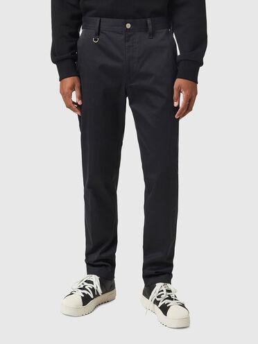 Pantalon chino en sergé stretch brossé