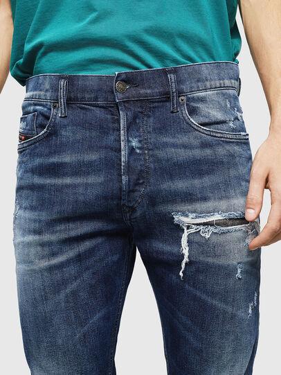 Diesel - Tepphar 0090G, Bleu Foncé - Jeans - Image 4